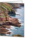 Armor Greeting Cards - Brittany Coast Greeting Card by Olivier Le Queinec