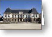 Architectural Greeting Cards - Brittany Parliament Greeting Card by Jane Rix