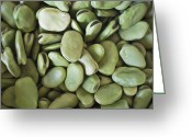 Broad-bean Greeting Cards - Broad Beans In A Peruvian Market Greeting Card by Axel Fassio