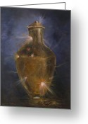 Award Greeting Cards - Broken Vessel Greeting Card by Deborah Smith