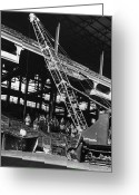 Brooklyn Dodgers Stadium Greeting Cards - Brooklyn: Ebbets Field Greeting Card by Granger
