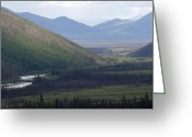 Brooks Greeting Cards - Brooks Range, Alaska Greeting Card by Michael S. Quinton