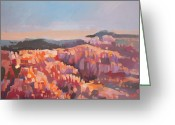 Inspiration Point Greeting Cards - Bryce Canyon - Utah Greeting Card by Filip Mihail