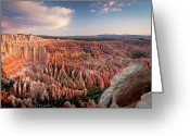 Bryce Canyon Greeting Cards - Bryce Canyon Sunrise Greeting Card by Ben Neumann