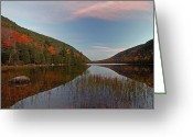 Desert Island Greeting Cards - Bubble Pond at Autumn Glory Greeting Card by Juergen Roth