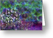 Designers Choice Painting Greeting Cards - Bubbles  Greeting Card by Don Wright