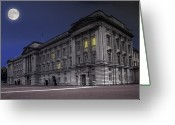 Royalty Greeting Cards - Buckingham Palace Greeting Card by Jaroslaw Grudzinski
