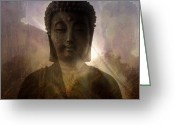 All Greeting Cards - Buddha II Greeting Card by H Kopp-Delaney
