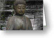 All Greeting Cards - Buddha IV Greeting Card by H Kopp-Delaney