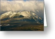Bob Berwyn Greeting Cards - Buffalo Mountain Greeting Card by Bob Berwyn