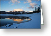 Bob Berwyn Greeting Cards - Buffalo Mountain Sunrise Greeting Card by Bob Berwyn