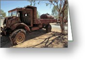 Chev Pickup Greeting Cards - Bugger Greeting Card by James Mcinnes