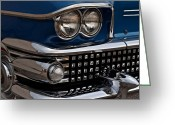 Blue Buick Greeting Cards - Buick Classic Greeting Card by Robert Harmon