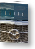 Blue Buick Greeting Cards - Buick Special 1956. Miami Greeting Card by Juan Carlos Ferro Duque