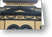 Skagway Greeting Cards - Building At Klondike Gold Rush National Greeting Card by Michael Melford