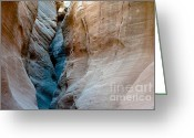 Grand Staircase - Escalante National Monument Greeting Cards - Bull valley gorge Greeting Card by Peter Wey