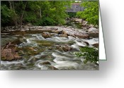Kent Connecticut Greeting Cards - Bulls Bridge Greeting Card by Bill  Wakeley