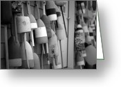 Nh Greeting Cards - Buoys Greeting Card by Eric Gendron