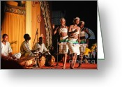Xylophone Greeting Cards - Burkinabe Dancers VII Greeting Card by Irene Abdou