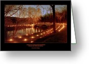 Antietam Greeting Cards - Burnside Bridge 96 Greeting Card by Judi Quelland