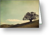 Oak Tree Greeting Cards - But I Still Need You Greeting Card by Laurie Search