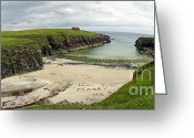 Marry Greeting Cards - Butt Beach Lewis Greeting Card by Jan Faul