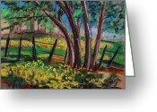 Early Pastels Greeting Cards - Buttercups Greeting Card by John  Williams