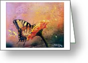 Butterfly Greeting Cards - Butterfly Greeting Card by Andrew King