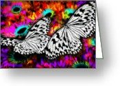 Architectur Greeting Cards - Butterfly Greeting Card by Ilias Athanasopoulos