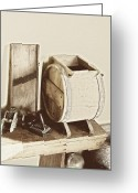 Buttermilk Greeting Cards - Buttermilk Churn 3540 Greeting Card by Michael Peychich