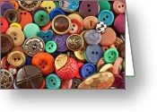 Maryland Greeting Cards - Buttons Greeting Card by Jeff Suhanick