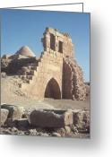 Byzantine Greeting Cards - Byzantine Ruins Greeting Card by Photo Researchers, Inc.