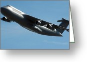 Award Photo Greeting Cards - C-5 Galaxy Greeting Card by Stocktrek Images