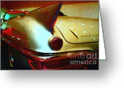Made In The Usa Digital Art Greeting Cards - Cadillac Eldorado . Painterly Style Greeting Card by Wingsdomain Art and Photography