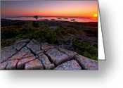 Desert Island Greeting Cards - Cadillac Rock Greeting Card by Neil Shapiro