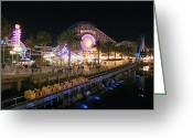 California Adventure Park Greeting Cards - Califorina Adventure Greeting Card by Kalima Aolahiko
