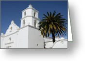 Spaniards Greeting Cards - California Mission 2 Greeting Card by Bob Christopher