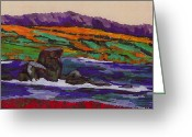 Conformist Greeting Cards - California Seacoast Greeting Card by Gail Daley