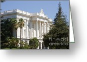 C Casch Greeting Cards - California State Capitol Building South Entrance Greeting Card by C Casch
