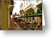 Cristo Street Greeting Cards - Calle Cristo Greeting Card by Alice Terrill