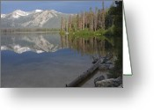 Stanley Greeting Cards - Calm Before the Storm Greeting Card by Idaho Scenic Images Linda Lantzy