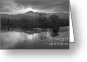 Meeker Greeting Cards - Calm of the Night Greeting Card by James Bo Insogna