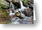 Wall Calendars Greeting Cards - Calypso Cascades White Water Greeting Card by Brent Parks
