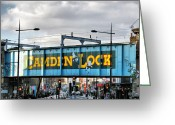 Camden Greeting Cards - Camden Lock Greeting Card by Chris Thaxter