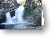 Cameron Greeting Cards - Cameron Falls Greeting Card by Tom Buchanan