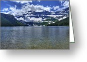 Cameron Greeting Cards - Cameron Lake Greeting Card by Don Wolf