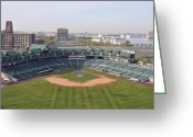 Camden Greeting Cards - Campbells Field Camden NJ Greeting Card by Bill Cannon