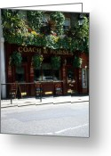 National Treasure Greeting Cards - Can you say Pub Time Greeting Card by Robert  Torkomian