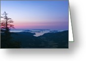 Maxwell Greeting Cards - Canadaian Gulf Islands at Dawn Greeting Card by Rob Tilley