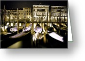 Veneto Greeting Cards - Canal Grande Greeting Card by Joana Kruse